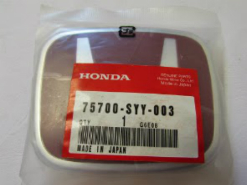 Red Emblem HONDA
