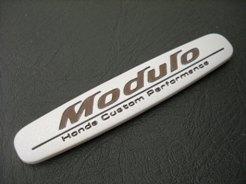 Emblem modulo honda ukuran 11.3x2 cm