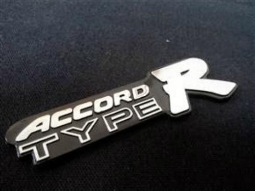 Emblem accord typeR ukuran 11.5x3.5 cm