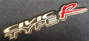 Emblem Civic type r