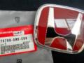Red Emblem Honda Brio dan Mobilio