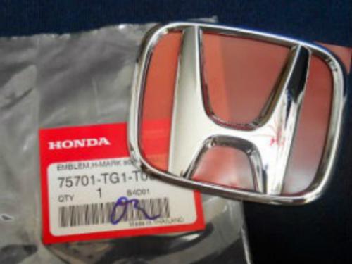 Emblem H blakang untuk HONDA BRIO ukuran 10x8