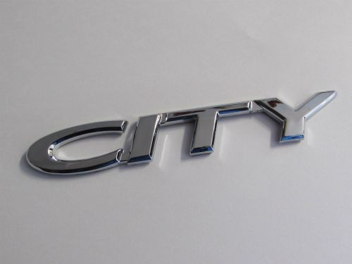 Emblem-City-Chrome